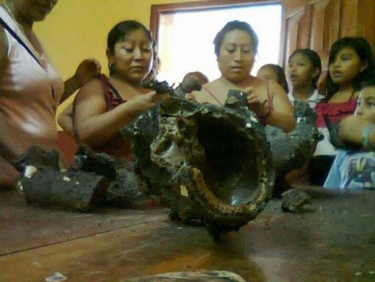Останки инопланетянина нашли в Мексике