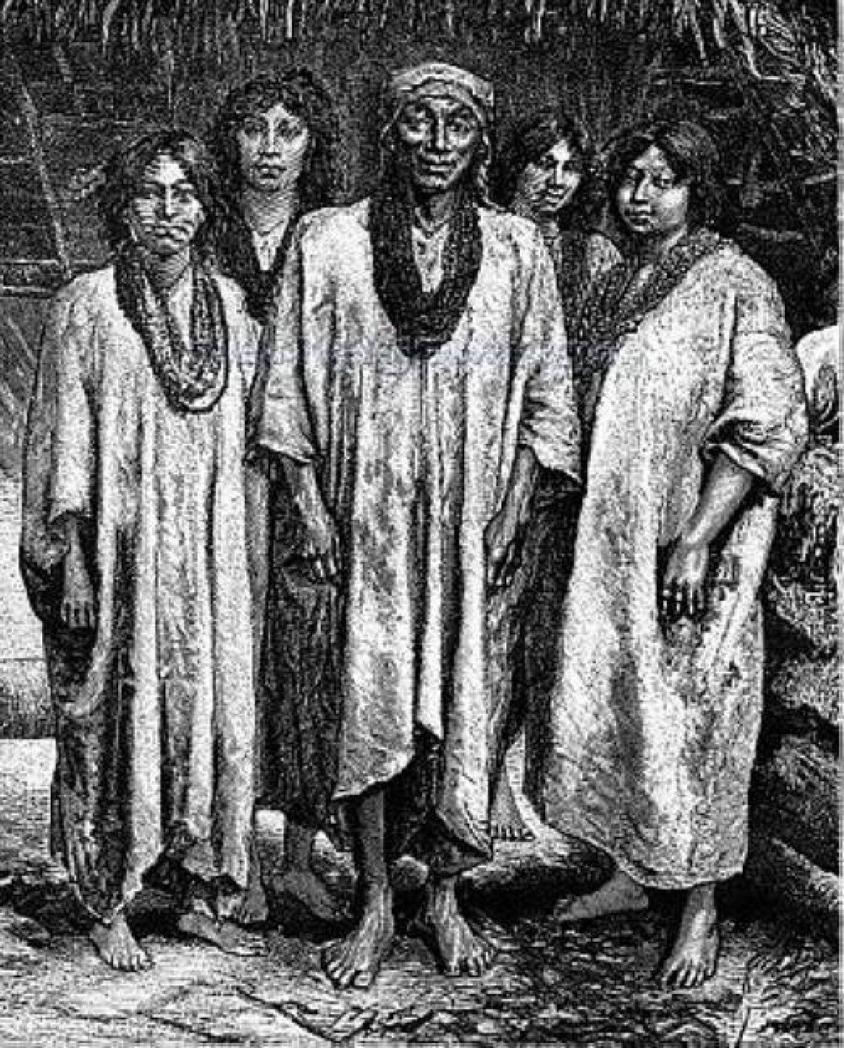 Единственные потомки майя, дожившие до наших дней, лакандоны