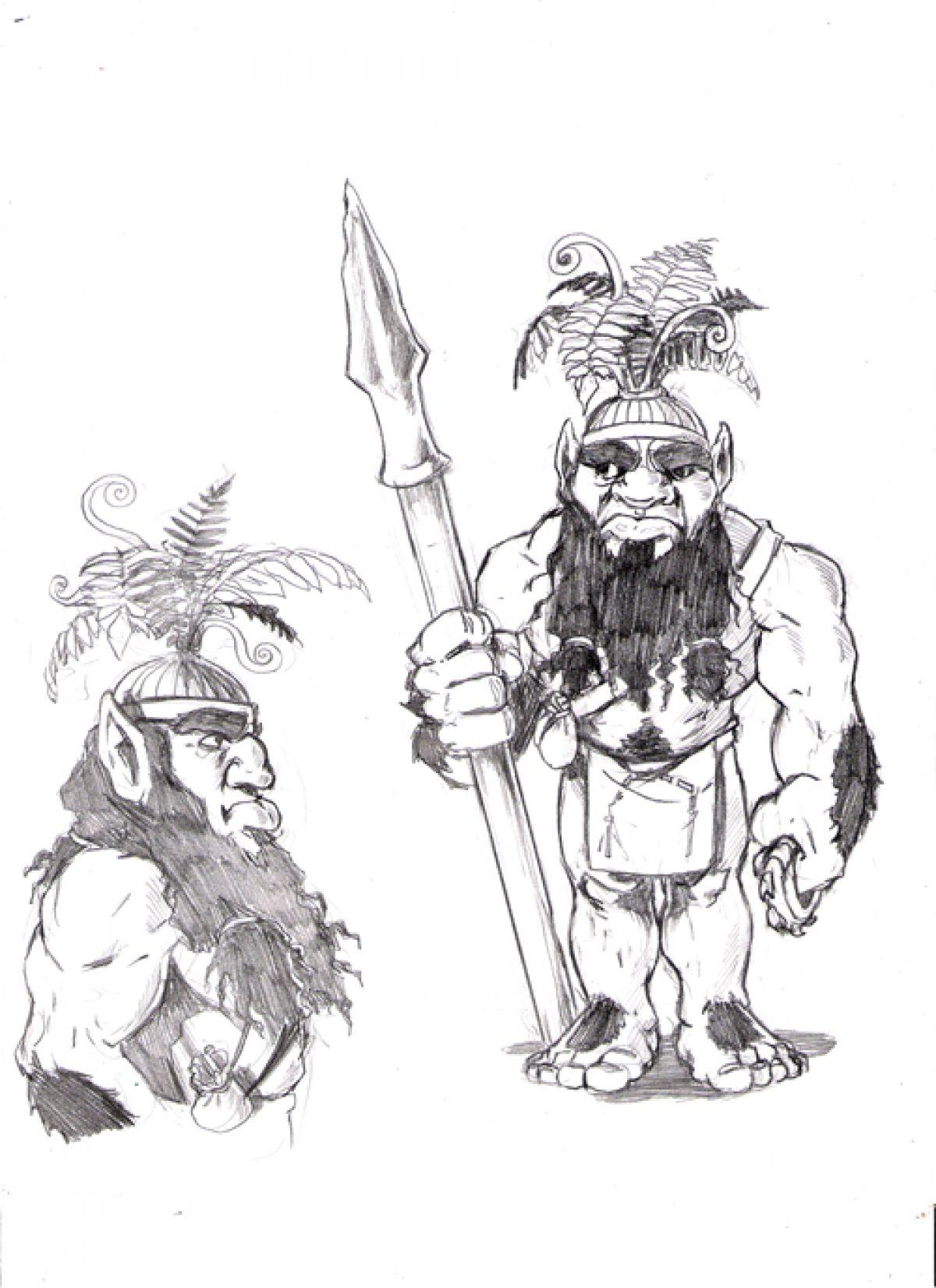 Гавайские лесные люди – менехуны