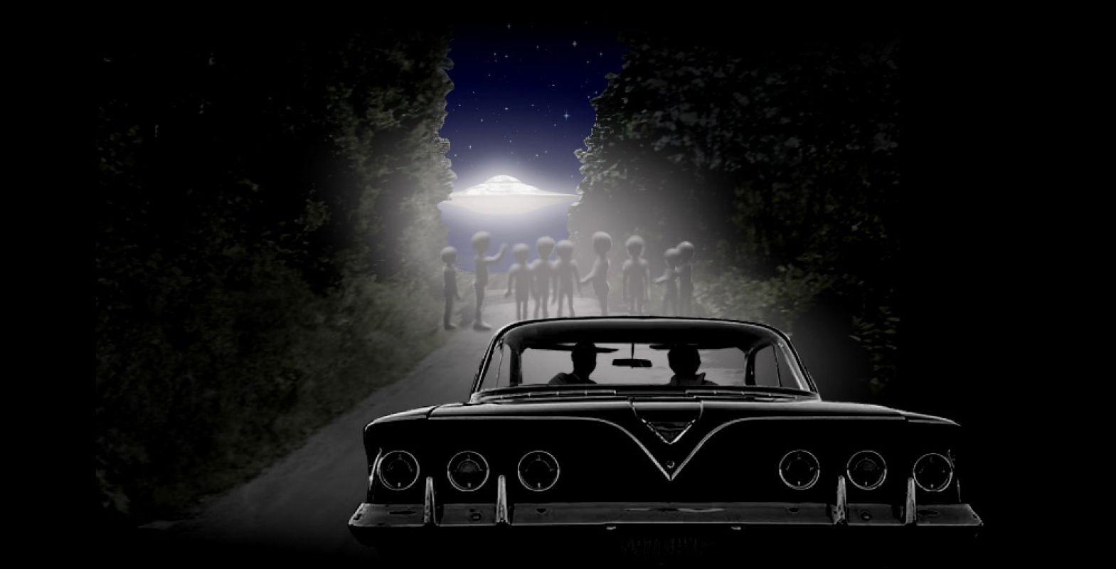 Люди, которых действительно похищали пришельцы - Бетти и Барни Хилл