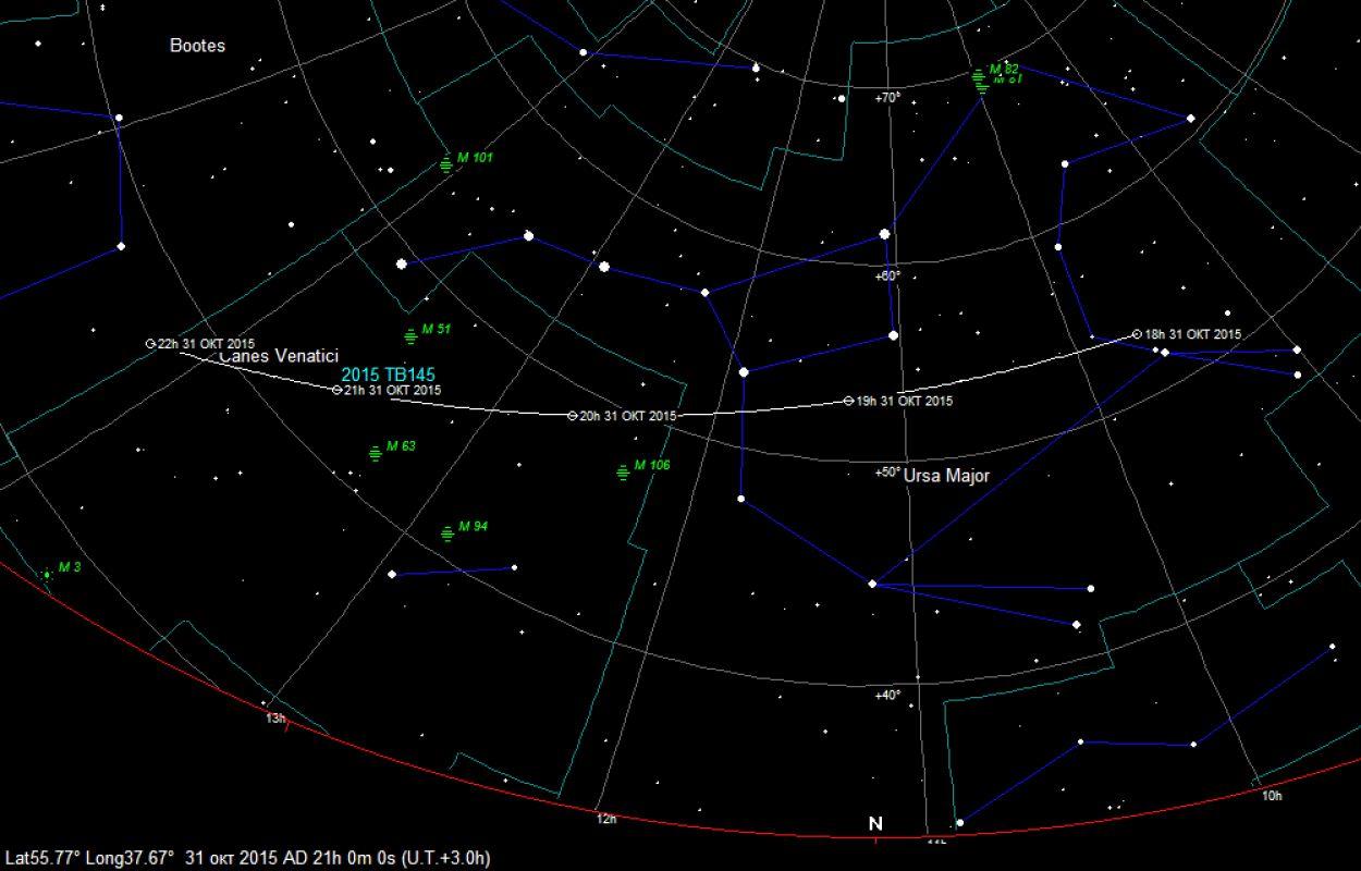 К Земле снова приближается неопасный астероид