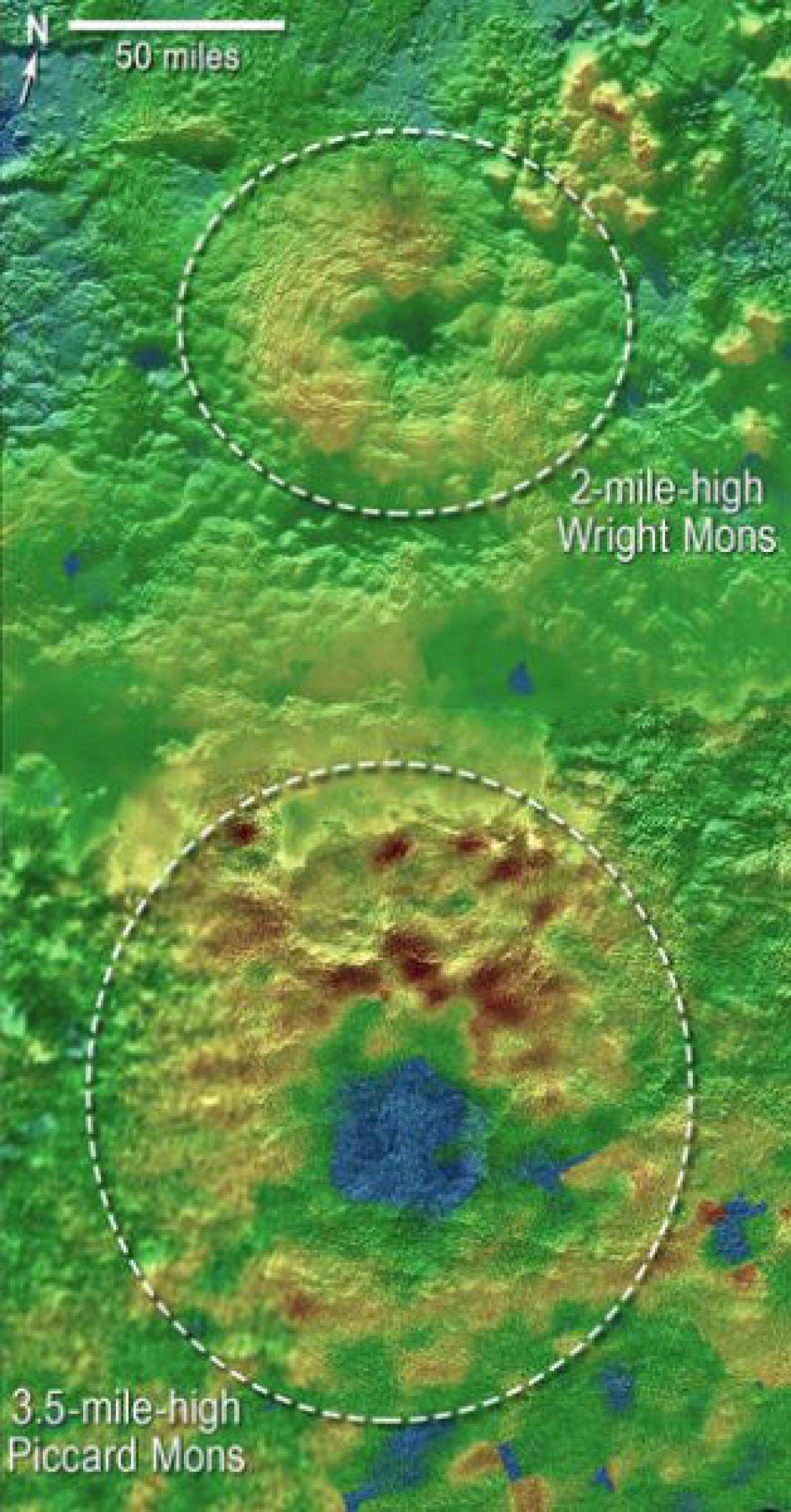 Ледяные вулканы Плутона