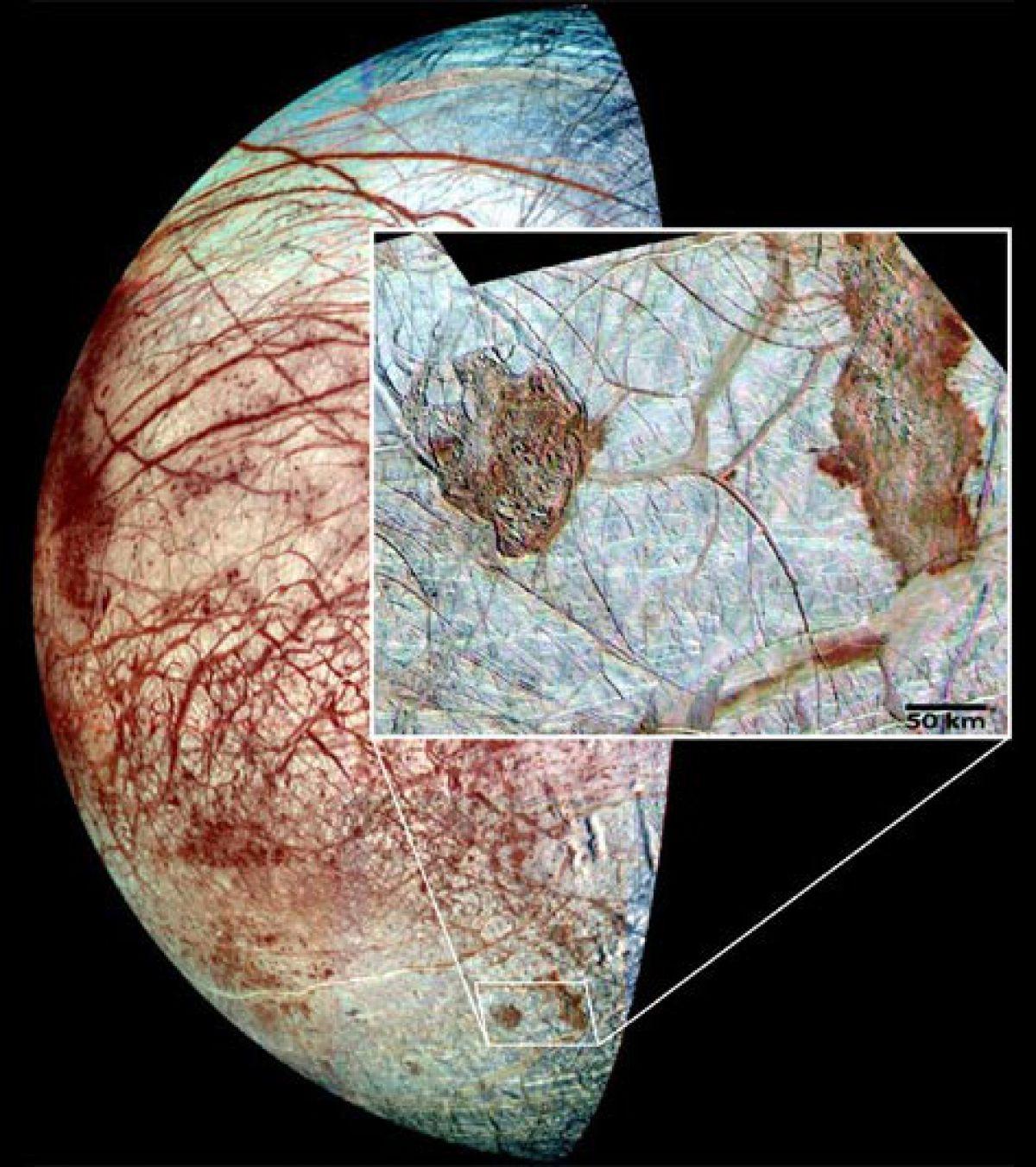 Тайны Европы – спутника Юпитера