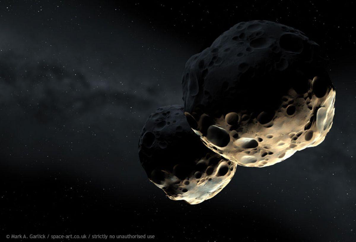 астероидный пояс между марсом и юпитером фото