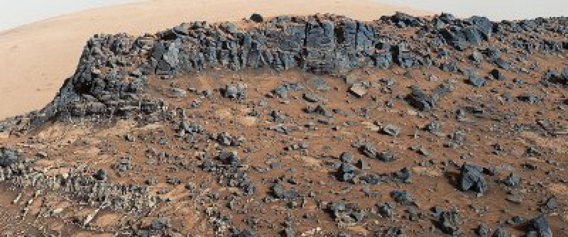 «Водные вены» Марса. Фотографии с «Curiosity»