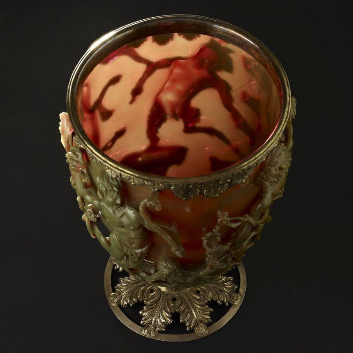Древнейшие нанотехнологии: кубок «Ликурга»