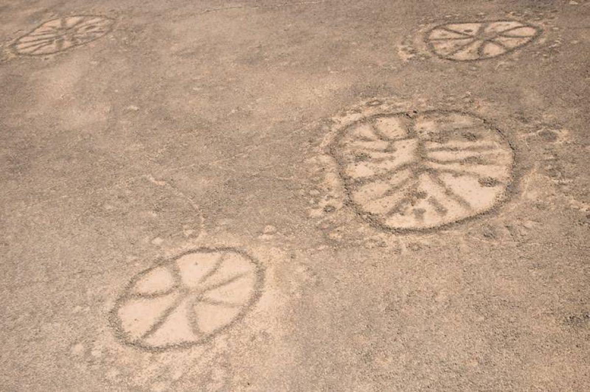 Загадки гигантских древних геоглифов Ближнего Востока