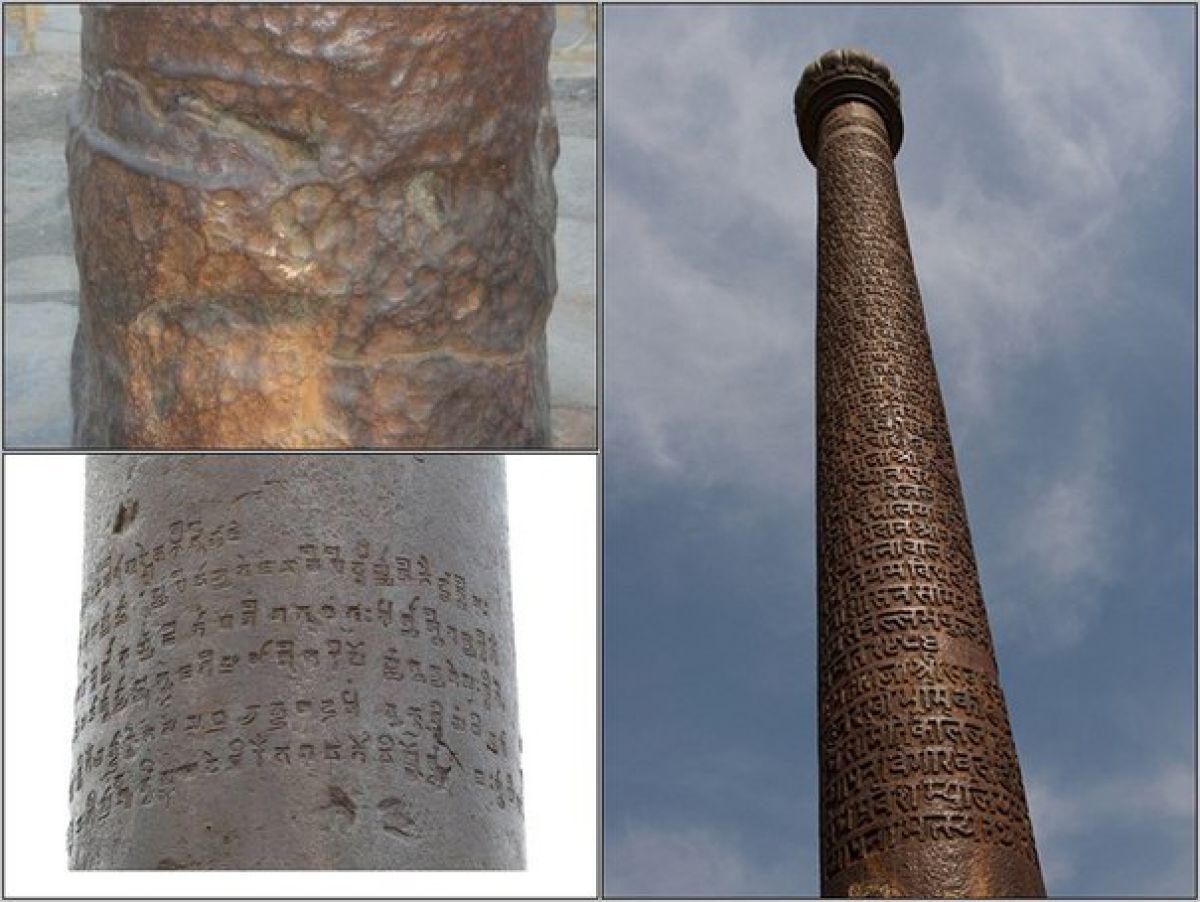 Достопримечательности Индии: загадочная железная колонна из неизвестного науке металла возрастом 1500 лет