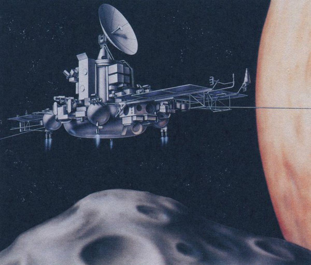 Фобос – таинственная Луна Марса