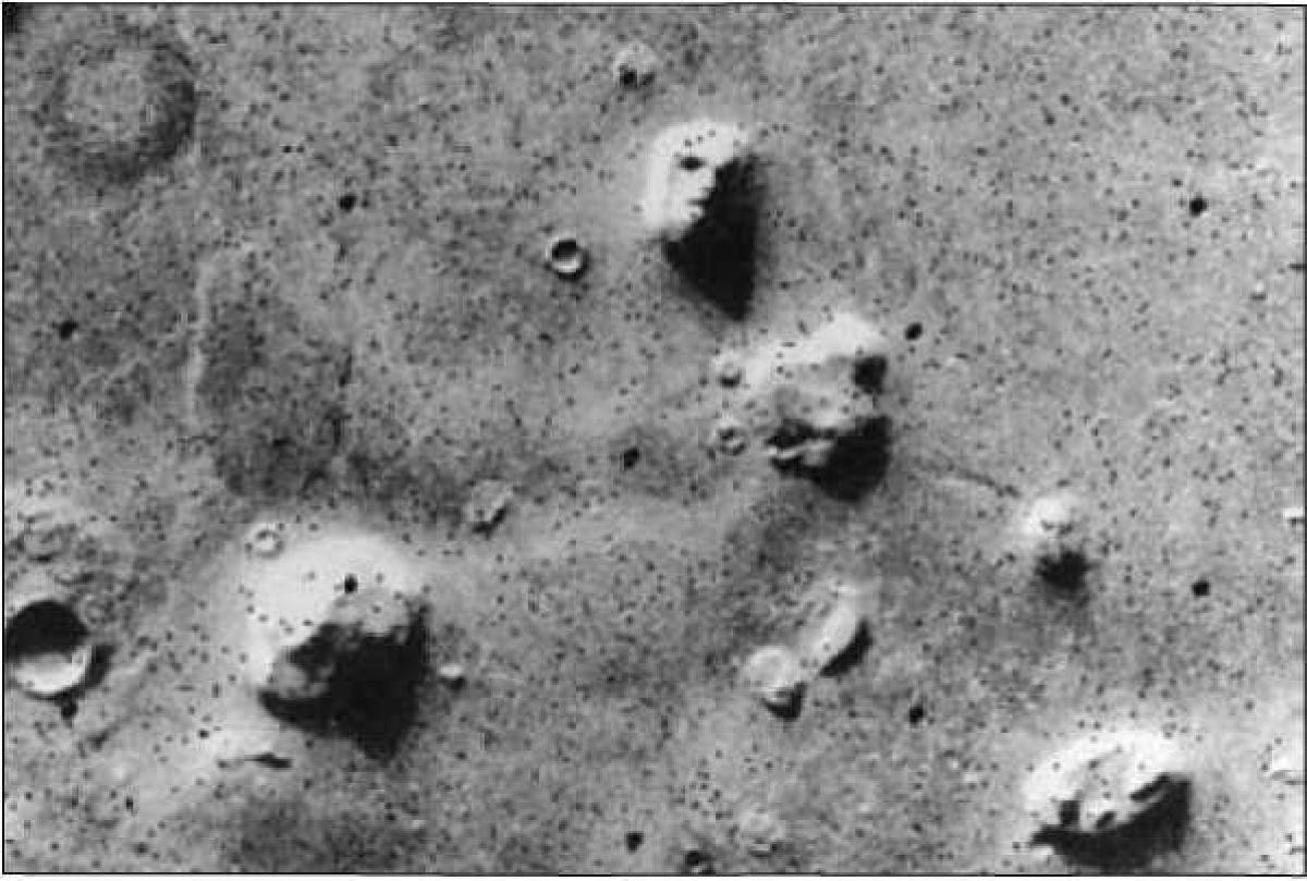 Марсианская Кидония: Какие тайны скрывает от человечества загадочный сфинкс