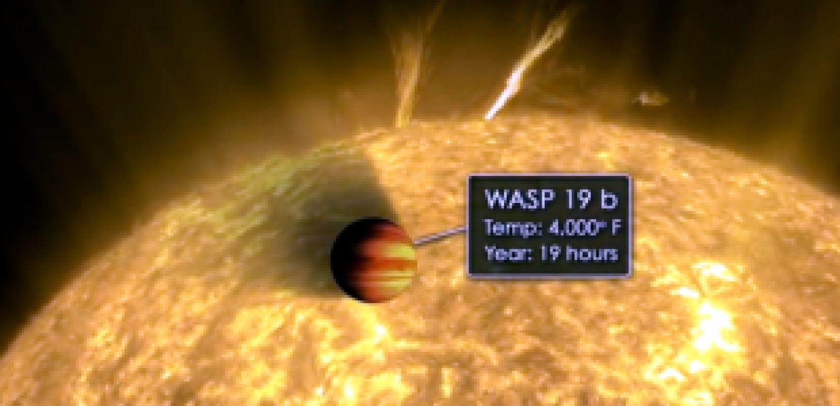 Астрономы нашли планету с