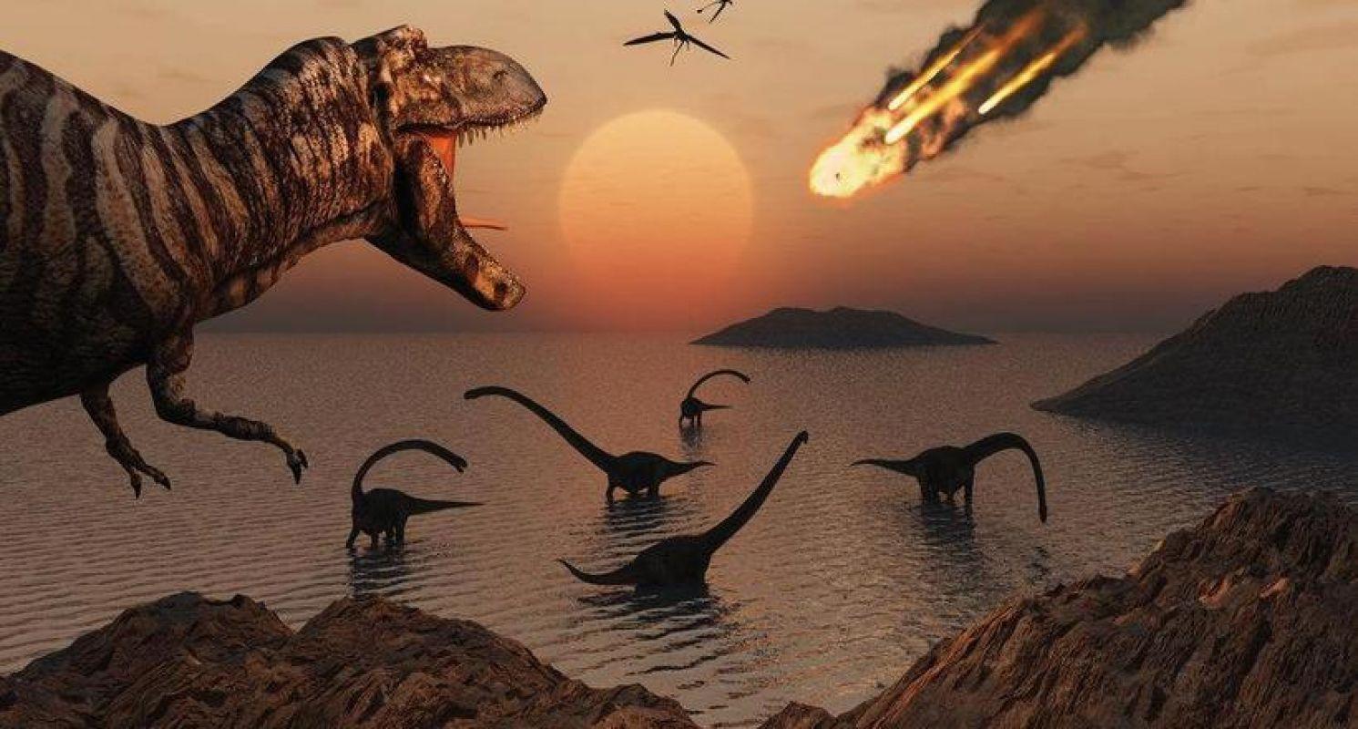 Астероид, уничтоживший динозавров, во время падения расплавил скалы