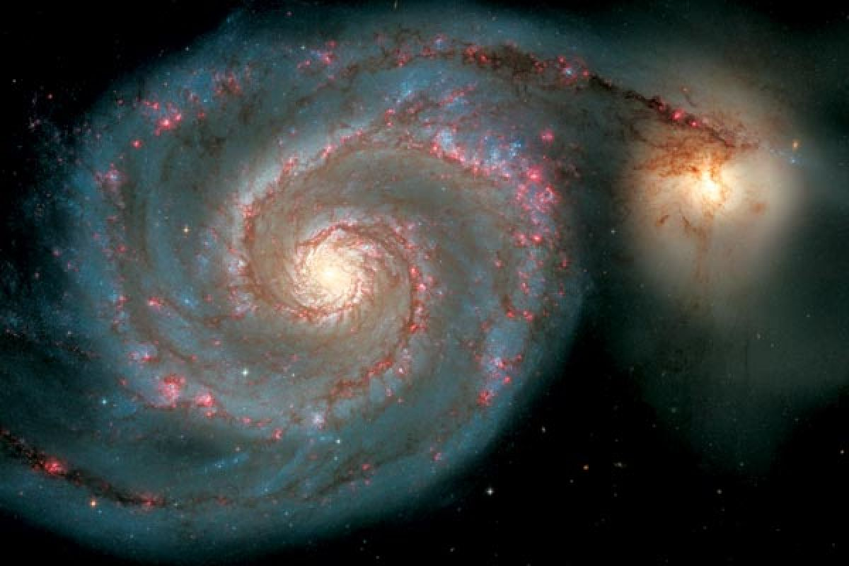 Найдены следы древней галактики, которая столкнулась с Млечным Путем