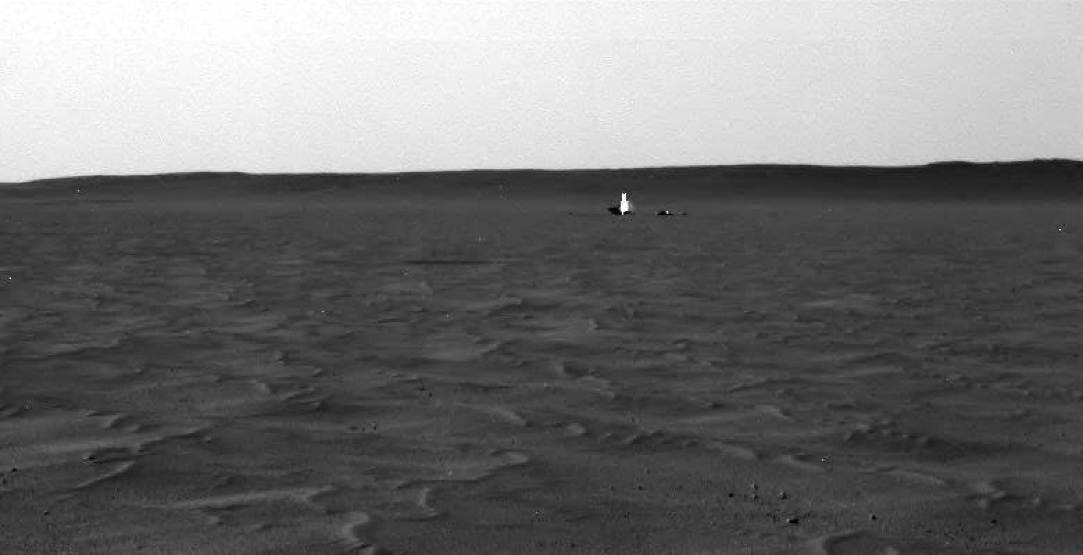 Замеченный на Марсе призрак, шокировавший общественность, ввёл в ступор исследователей