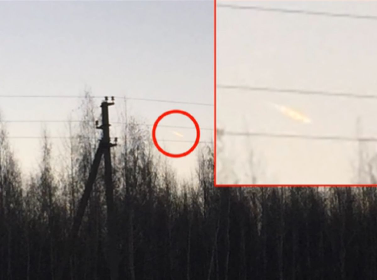 Видео того, как над Задонском пролетел огромный НЛО, ошарашило СМИ и привлекло экспертов
