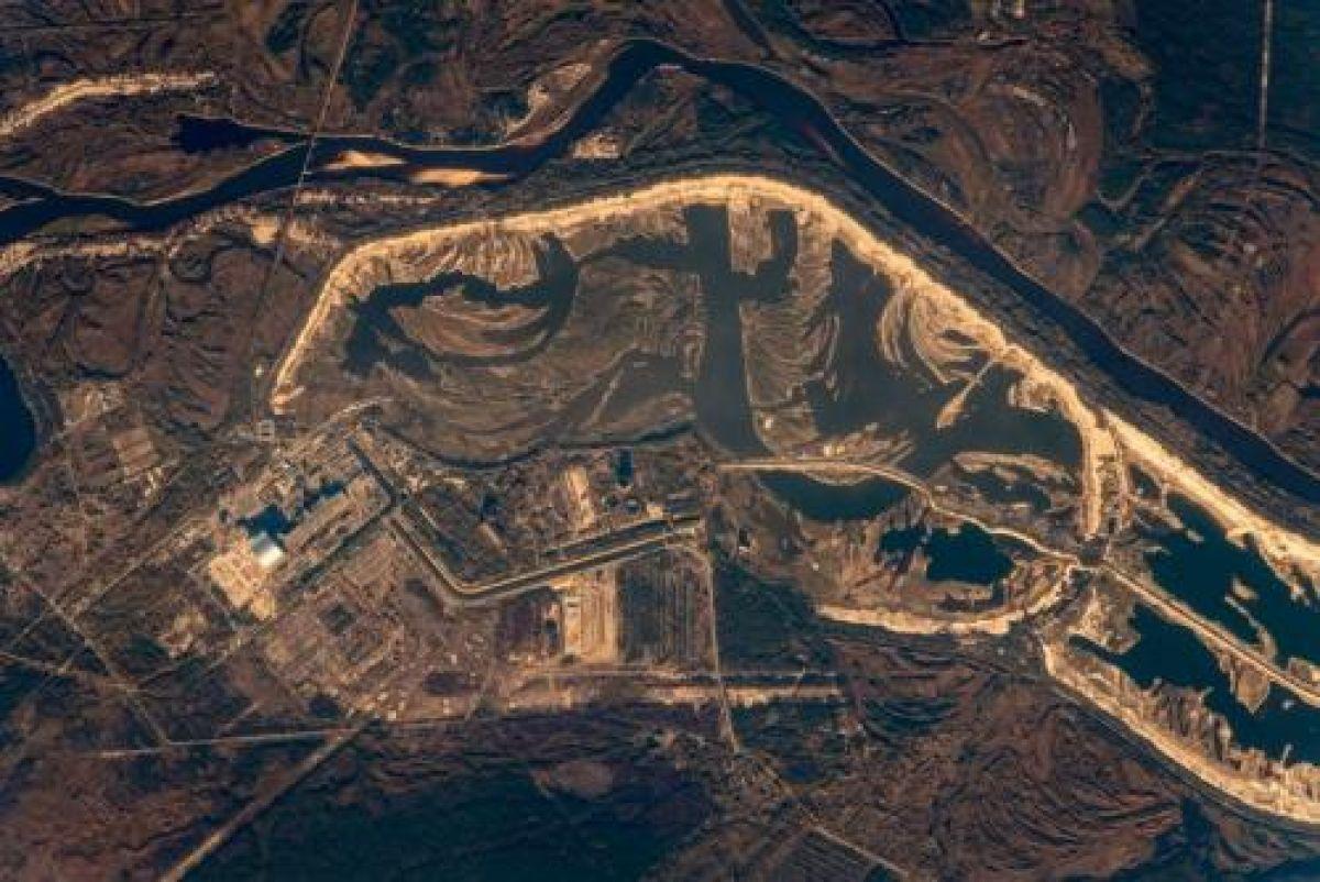 В Сети появились снимки Чернобыльской АЭС из космоса