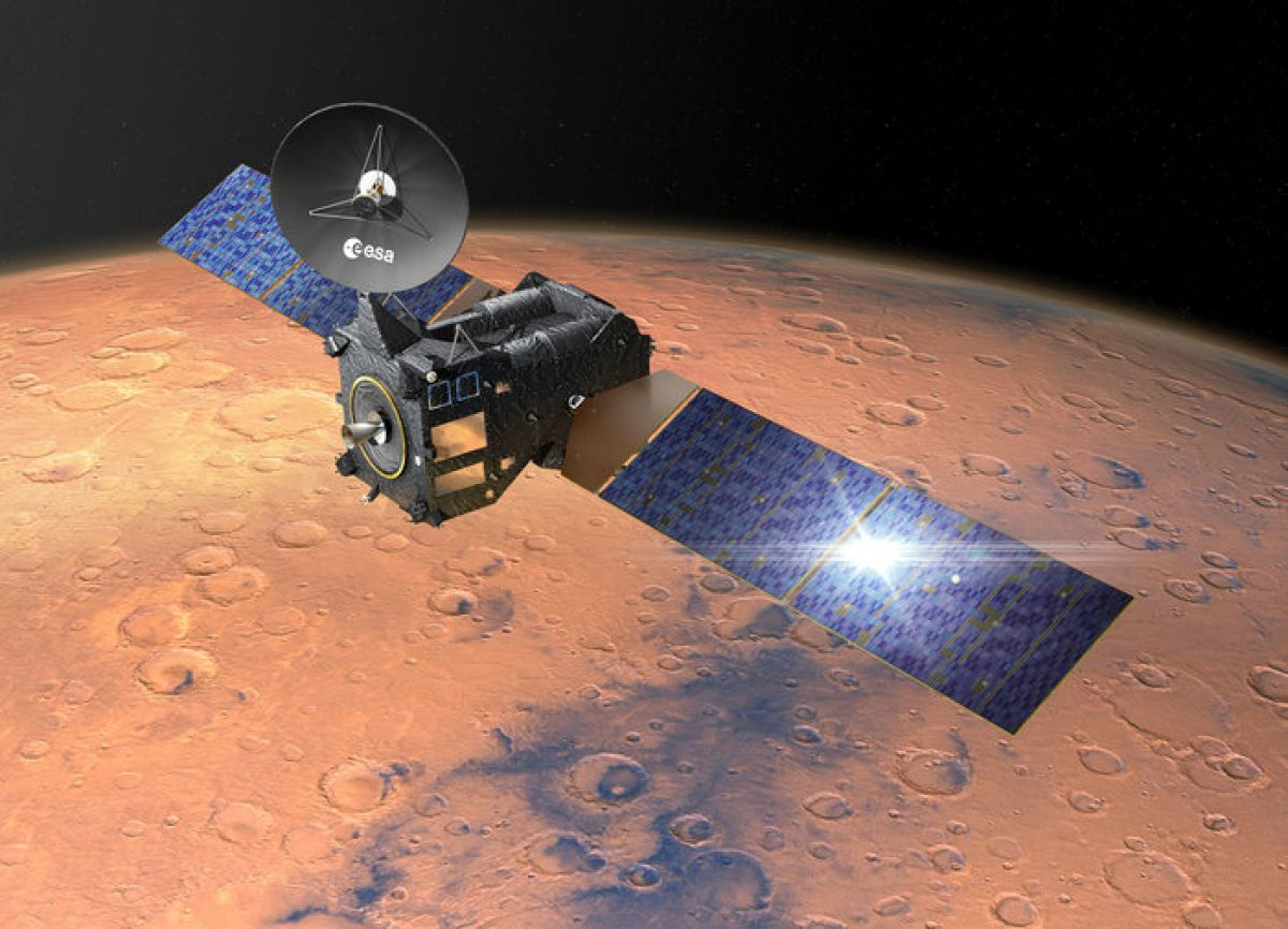 Ученые не понимают, куда исчез весь метан на Марсе