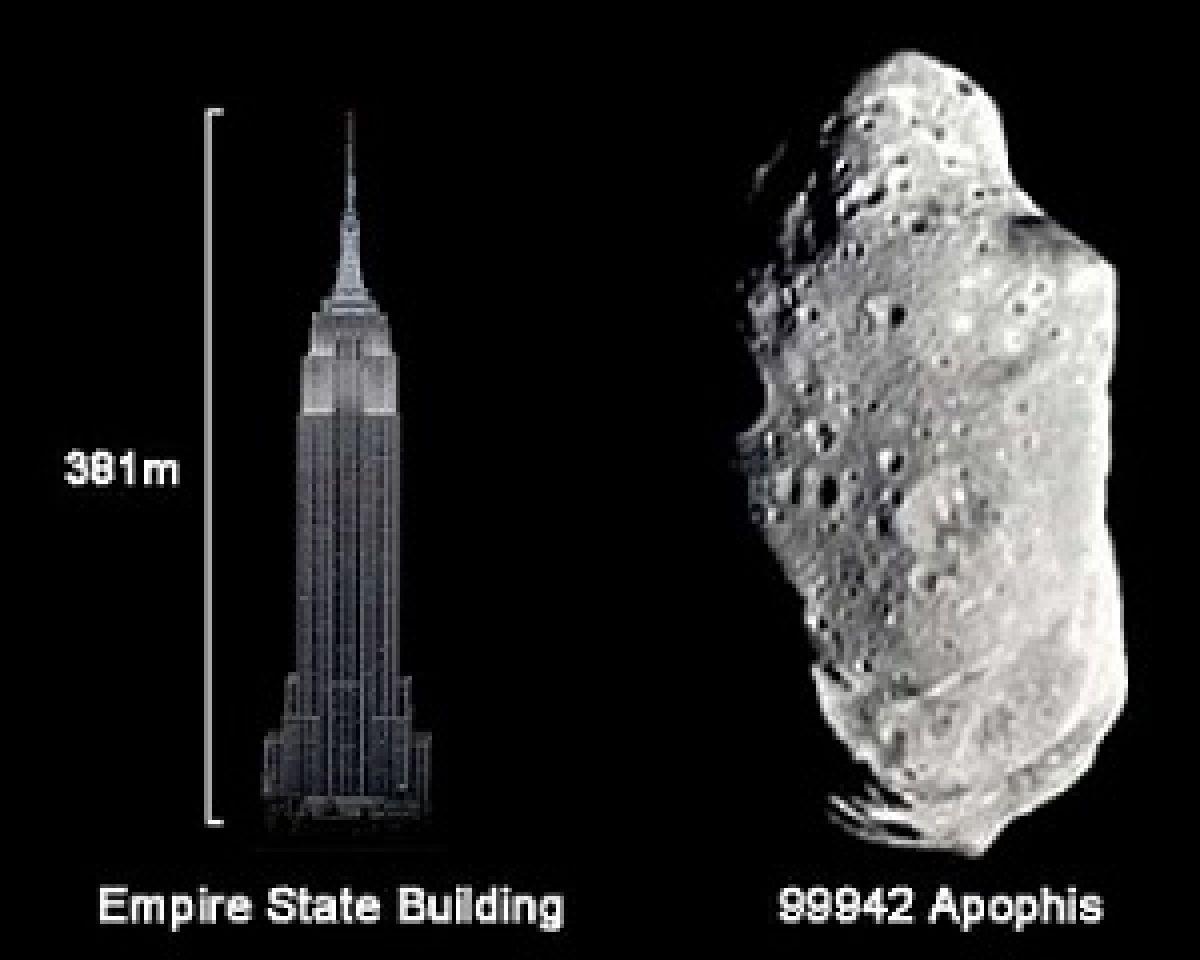 Ученые сообщили, что в 2068 году астероид Апофис упадёт на Землю