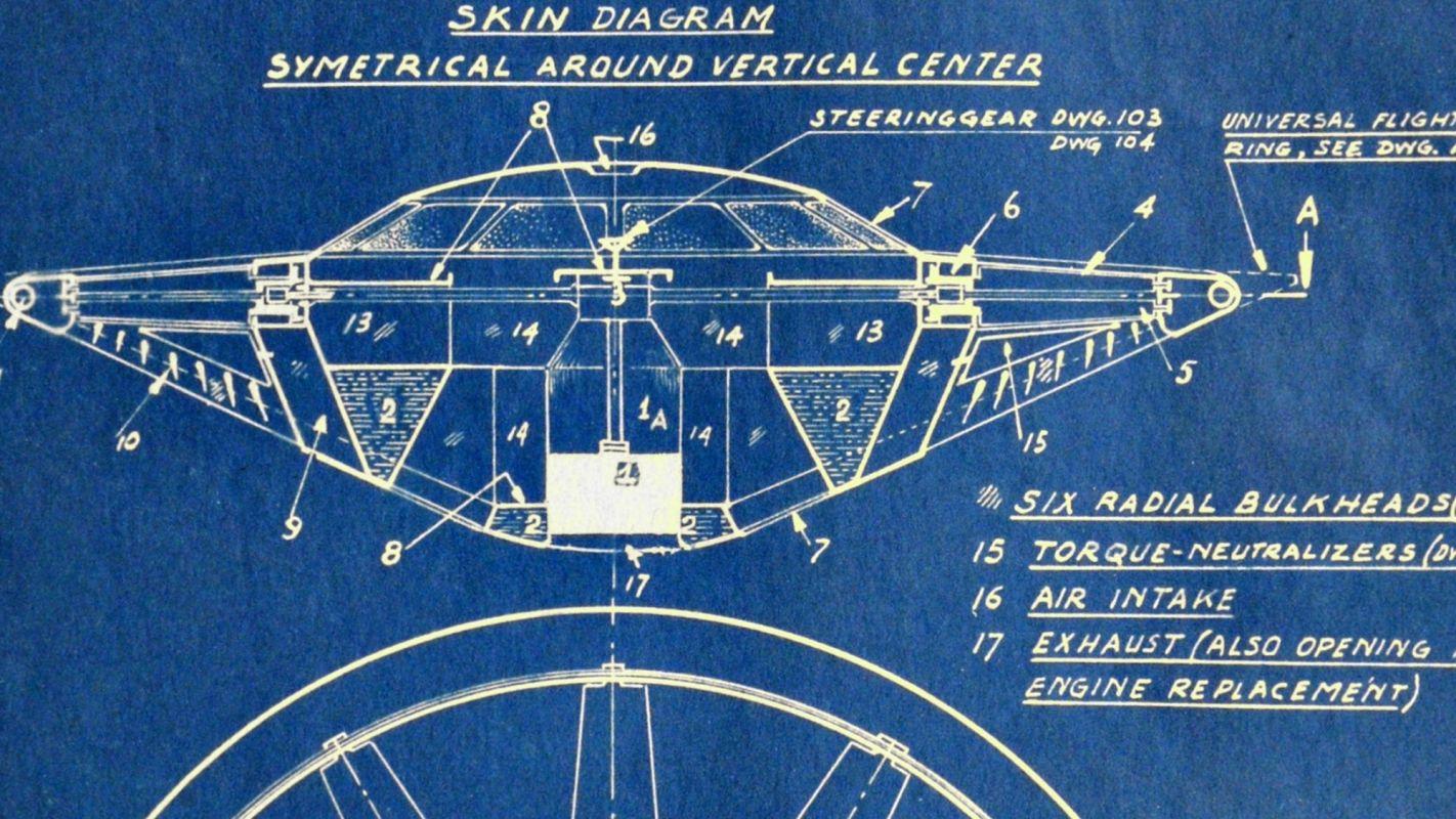 «Летающая тарелка» была запатентована ещё в 1944 году