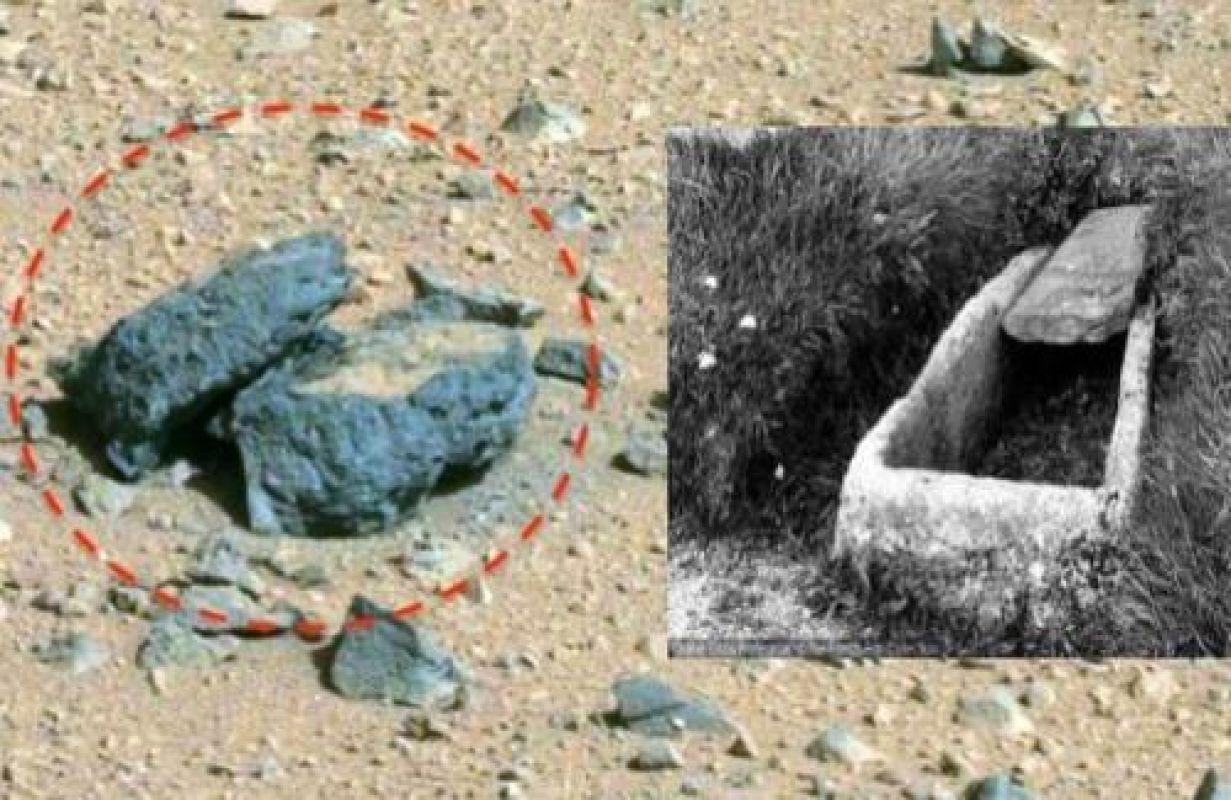 Известный уфолог нашёл на Марсе «гроб» и заинтересовал СМИ