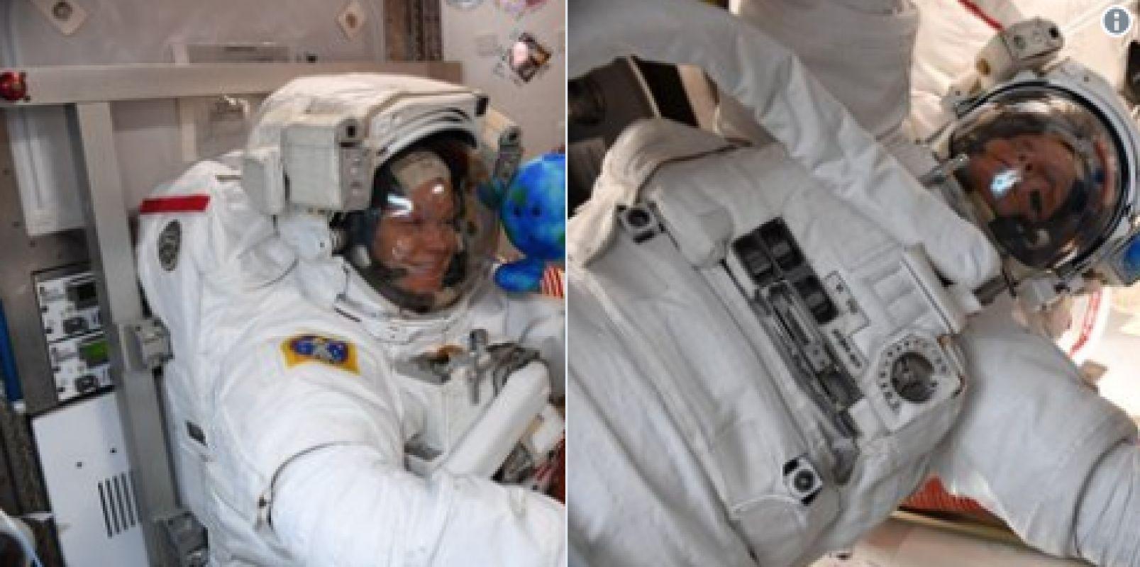 Американка Энн Макклейн за три месяца на МКС выросла на 5 сантиметров