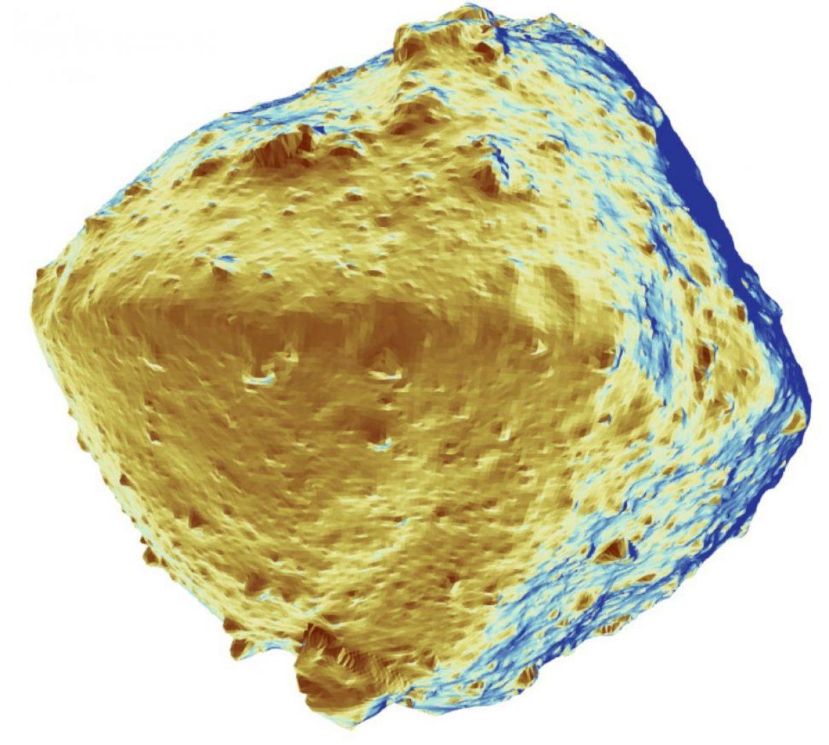 Ученые не ожидали, что на астероиде Рюгу настолько мало воды