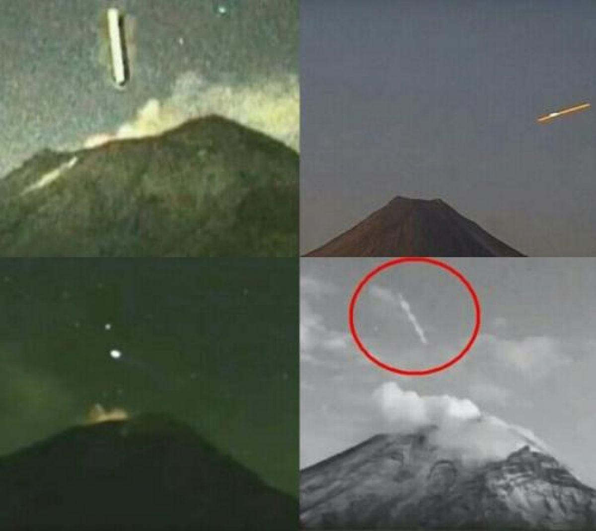 Уфологи считают, что причиной извержения вулкана в Мексике стал НЛО