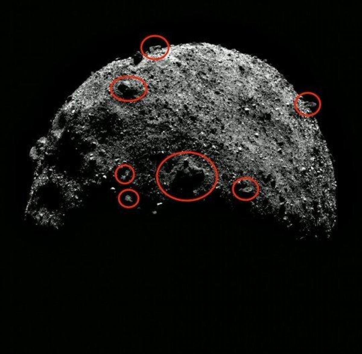 Скотт Уоринг показал снимки с пришельцами на астероиде Бенну