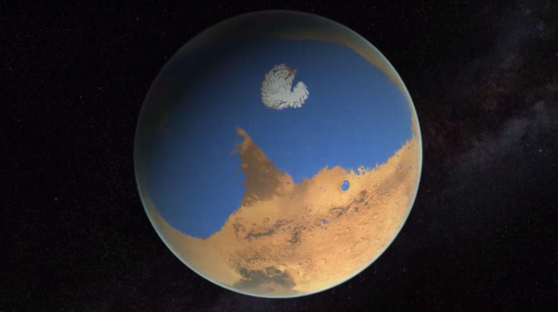 Ученые столкнулись с очередной загадкой исчезновения воды на Марсе и попали в тупик