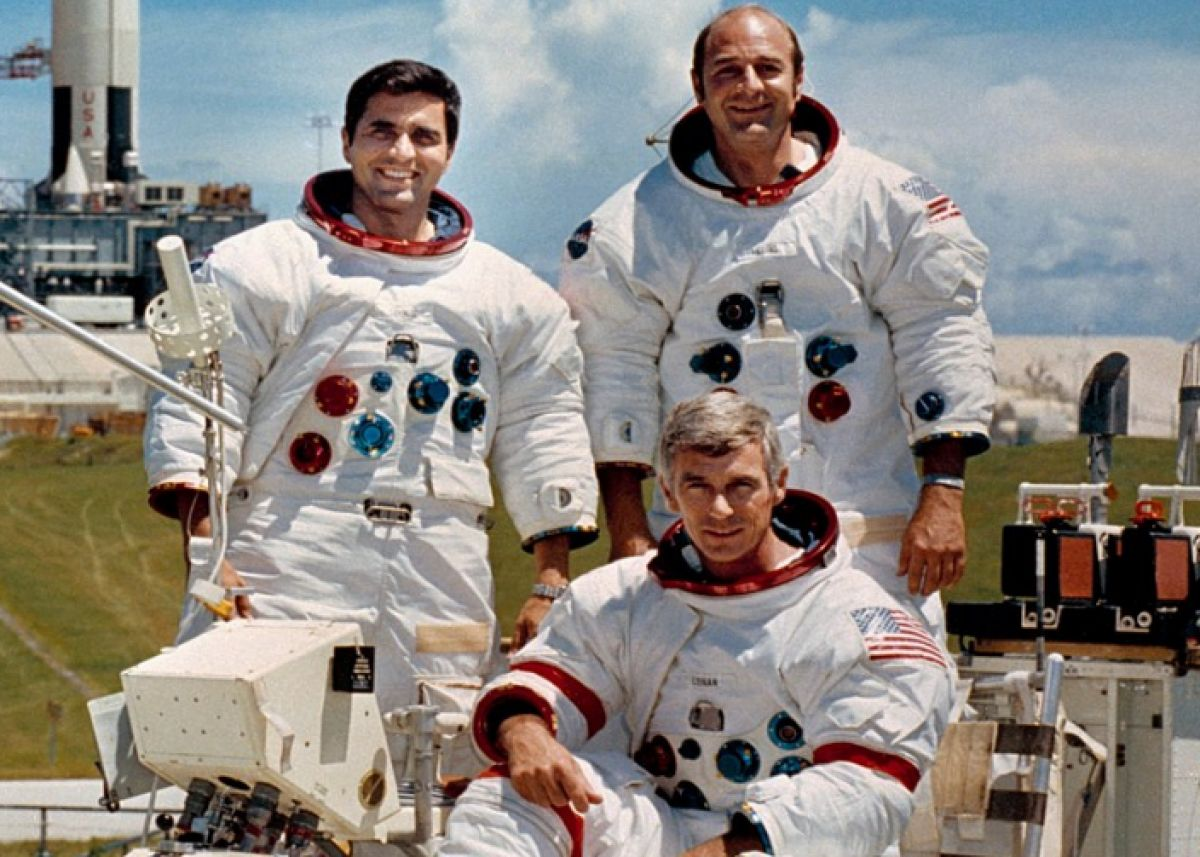 8 астронавтов миссии «Аполлон» встретились в честь 50-летия первой высадки человека на Луне