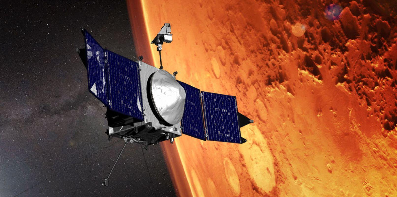 Российские ученые выяснили, что Солнце «ворует» воду у Марса