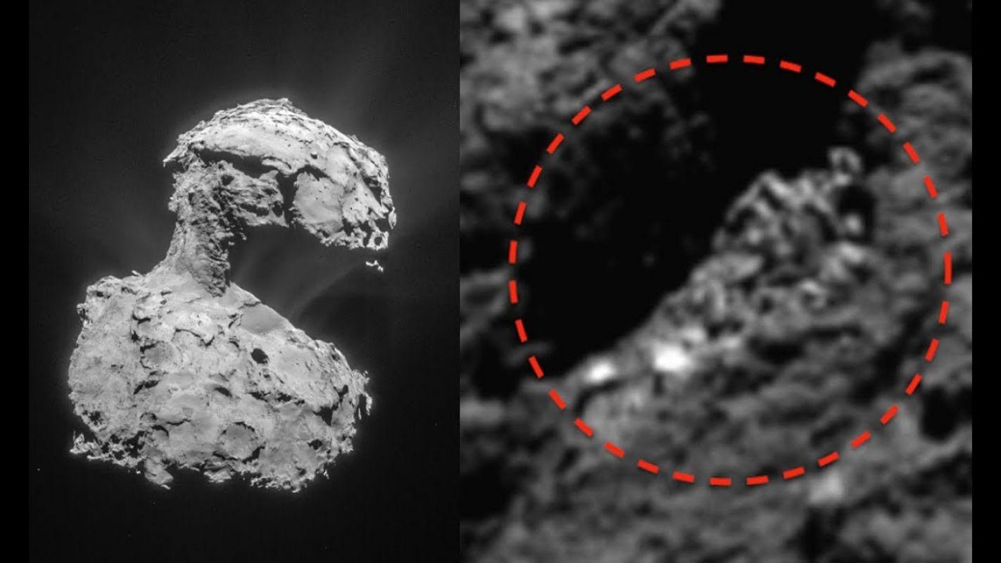 Исследователь заметил на комете давно умершего пришельца, показал соответствующий снимок в сети и удивил всех