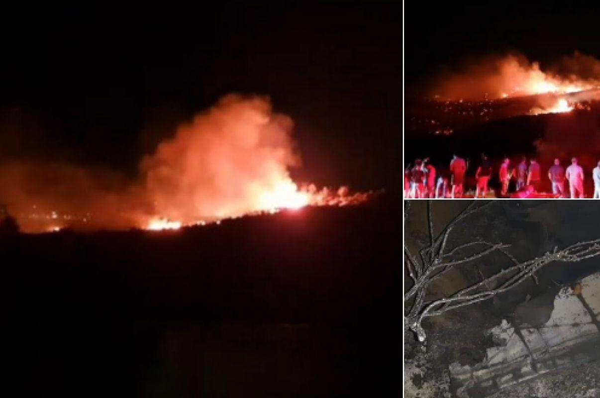 Поразительные кадры с места происшествия: На Кипре упал и взорвался НЛО, эксперты пытаются понять, что это было
