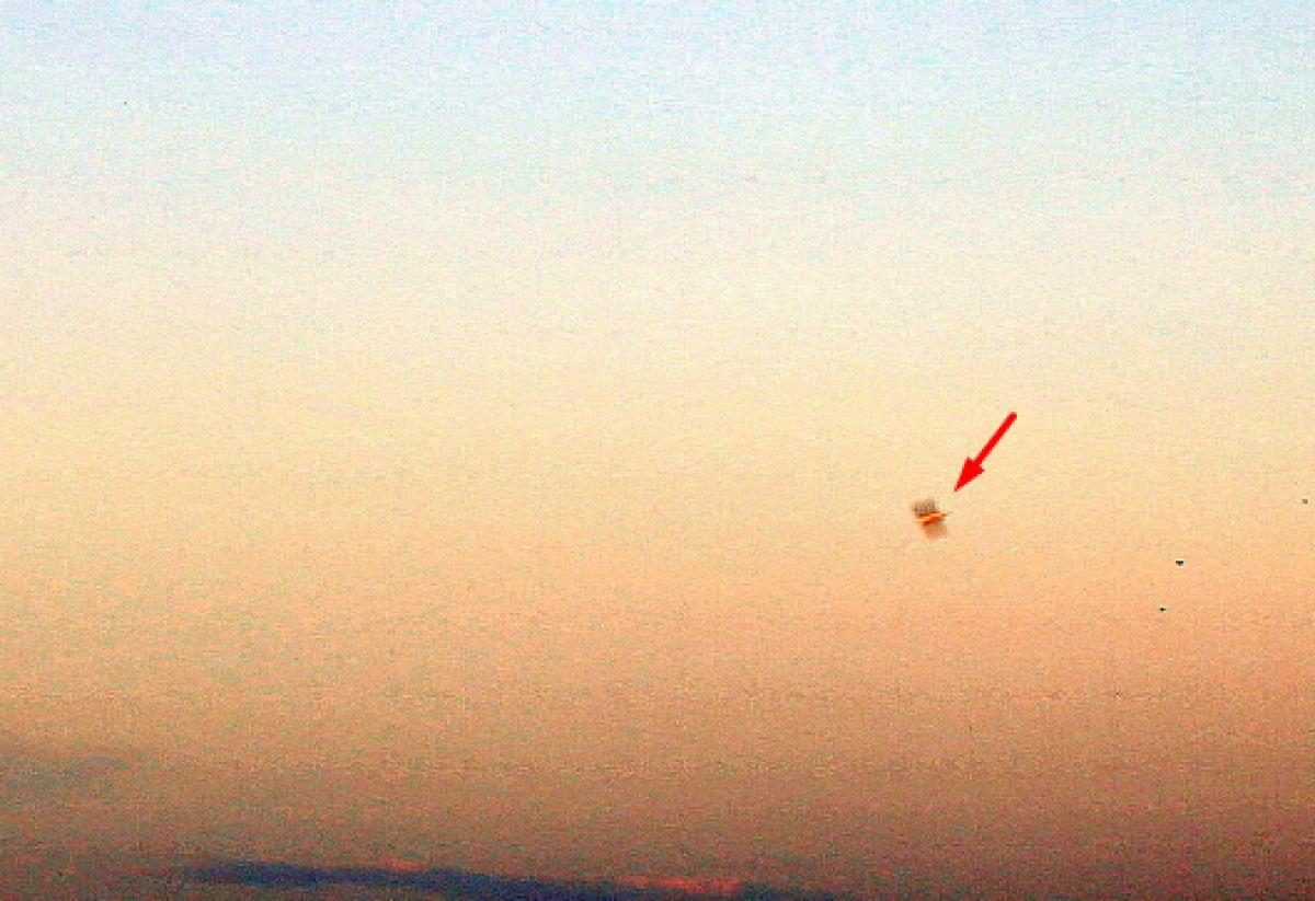 Очень необычный НЛО, который поразил исследователей, сфотографировали в Волгограде над Волгой