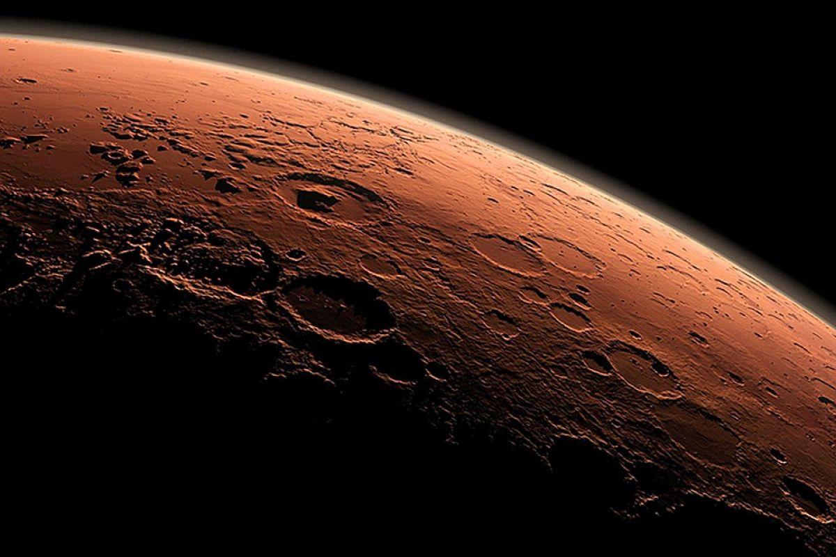 Уфолог показал снимок, на котором запечатлено лицо на Марсе