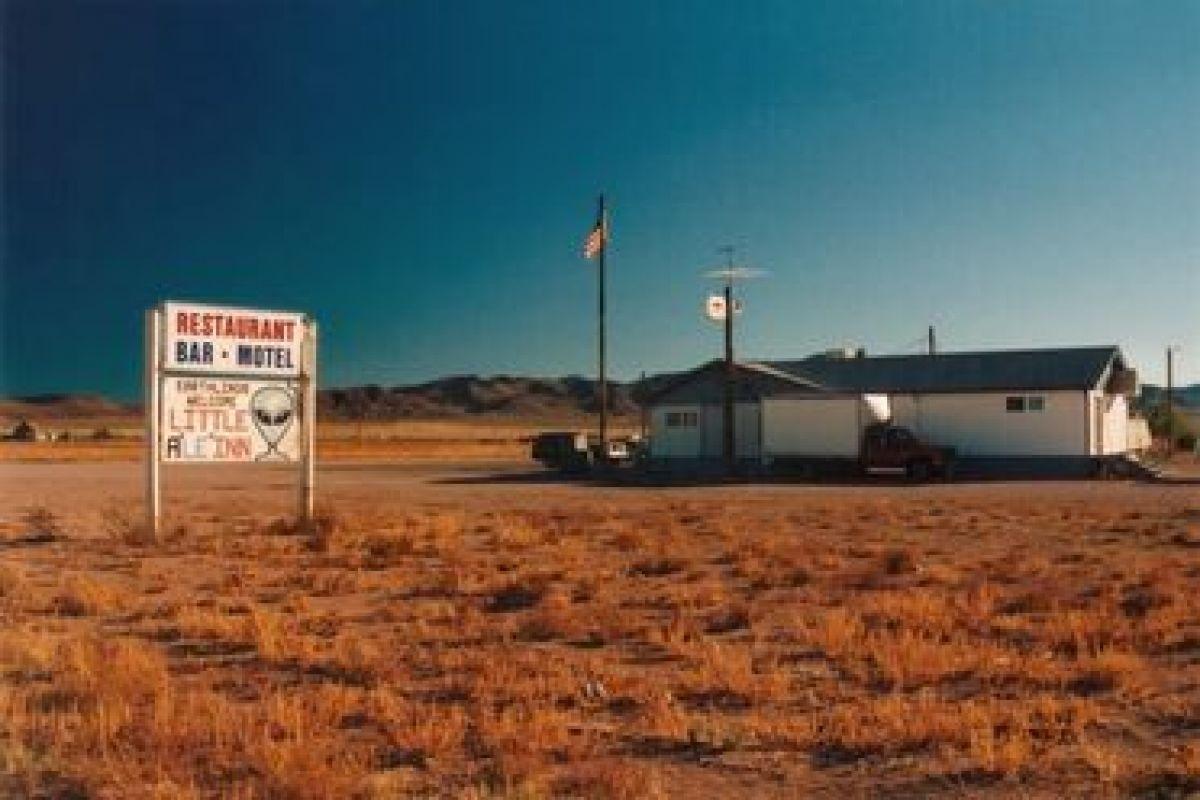 Возле «Зоны 51» на видео был снят НЛО, подлетевший к камере на близкое расстояние