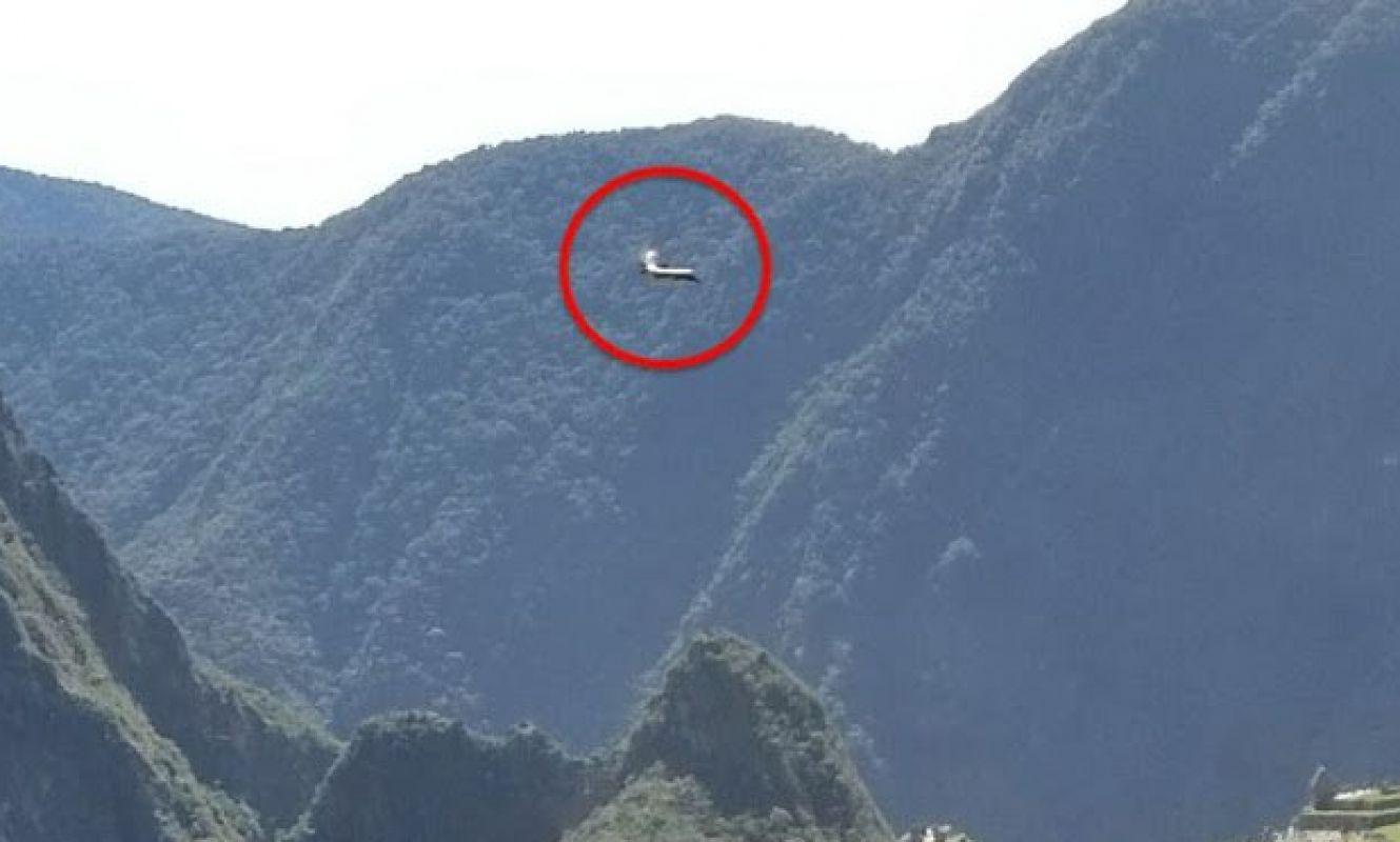 Турист сфотографировал НЛО в Мачу-Пикчу и удивил интернет своими снимками
