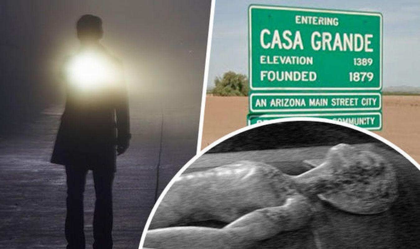 Новое появление НЛО возле «Зоны 51», попавшее на видео, удивило сеть