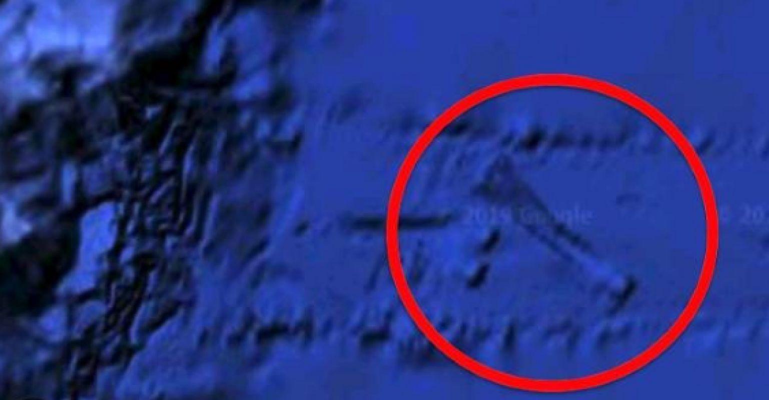 Возле Гавайских островов обнаружена предполагаемая база пришельцев, есть фото