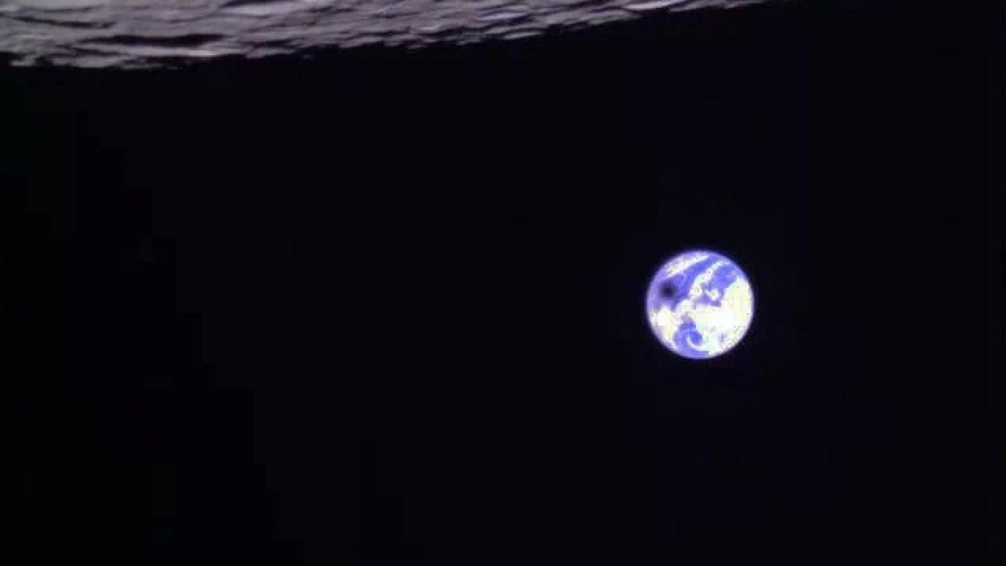 Китайский спутник запечатлел, как лунная тень проходит по поверхности Земли