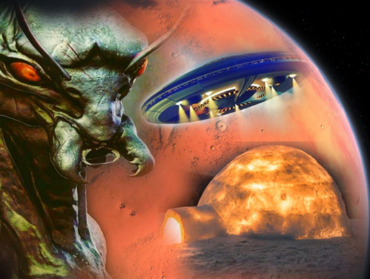 Скотт Уоринг показал снимок, на котором фигурирует «нога марсианского робота»