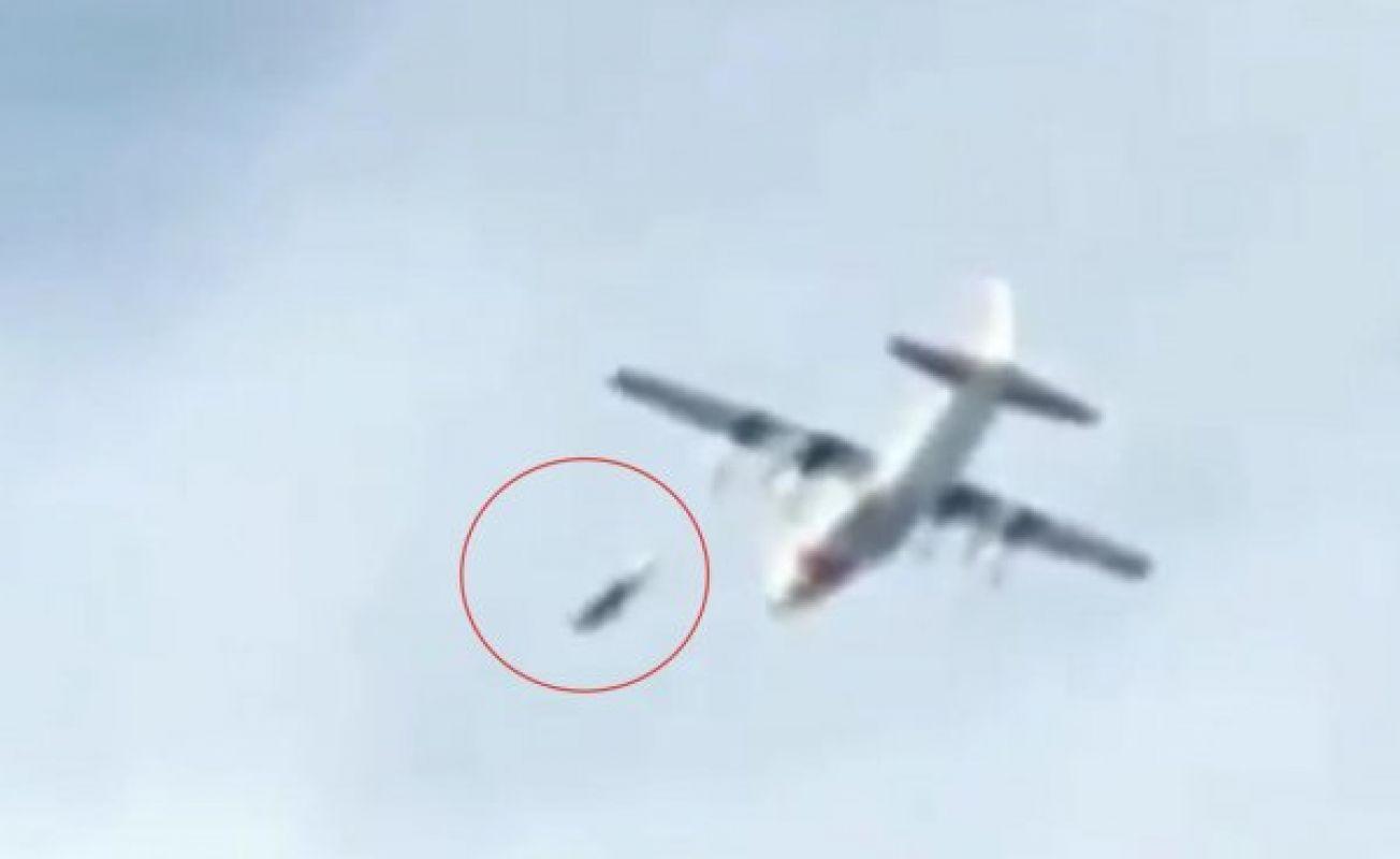 Невероятно, но факт: На видео сняли, как НЛО едва не стал причиной авиакатастрофы