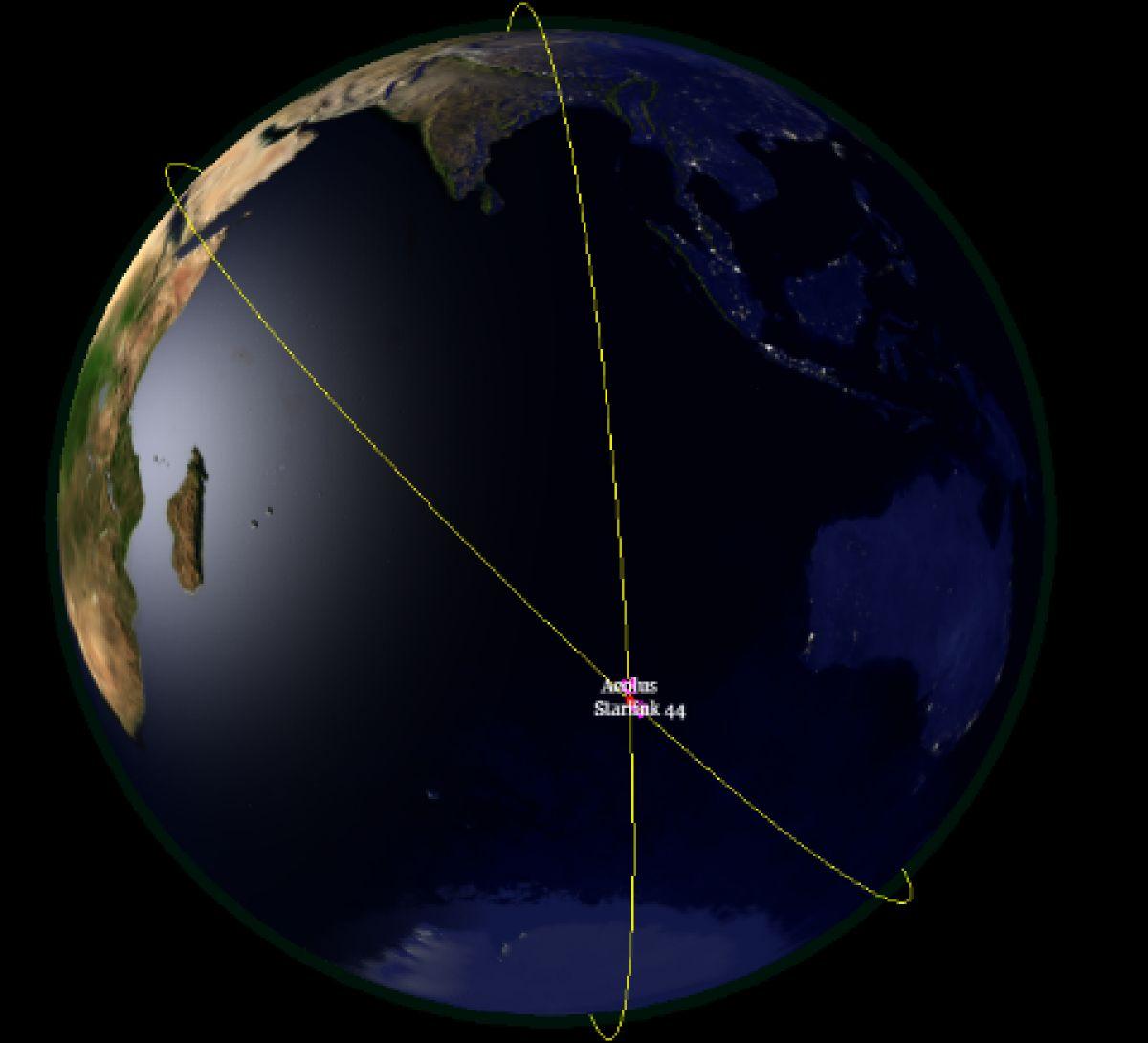 Европейский спутник вынужден был совершить маневр, чтобы не столкнуться с аппаратом Илона Маска