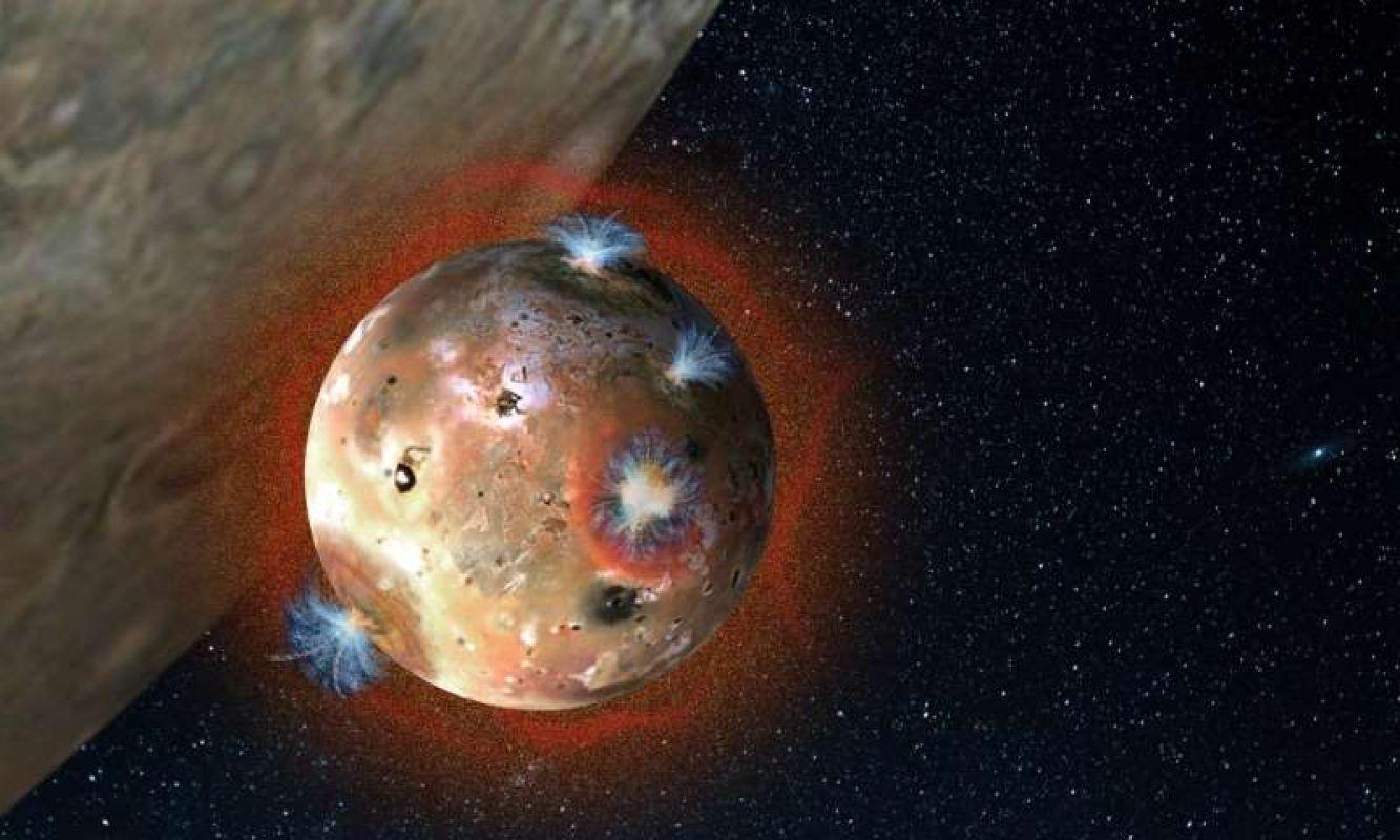 В сентябре «проснется» гигантский супервулкан на спутнике Юпитера