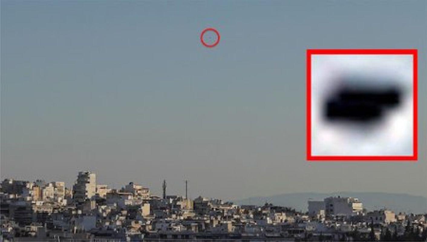 Снимок со странным НЛО, который появился над Афинами, удивил даже опытного уфолога