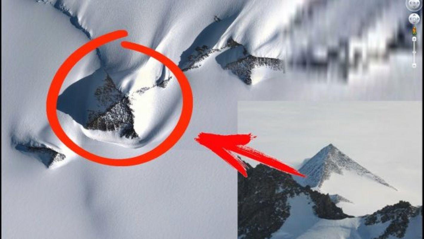 Предполагаемая гробница с пришельцами была найдена в Антарктиде, фото
