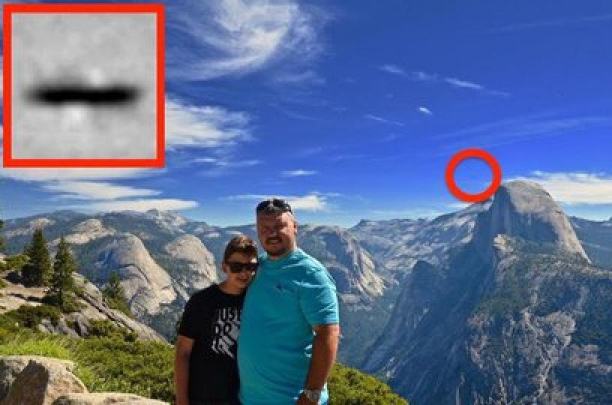 В Калифорнии супружеская пара случайно сняла НЛО и заинтересовала учёных, фото