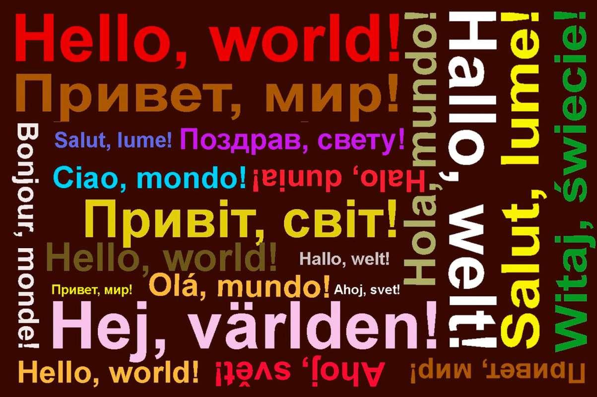 Картинки по запросу Всемирный день приветствий (World Hello Day)
