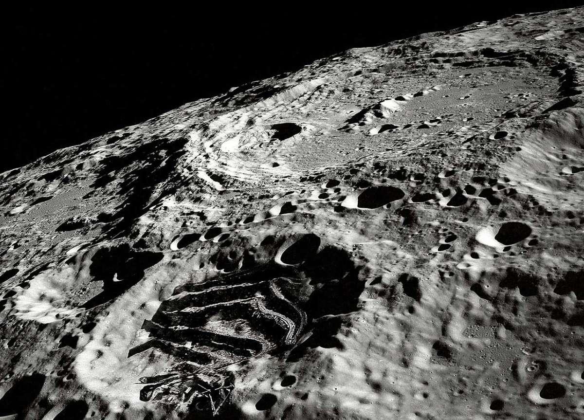 луна обратная сторона фото из космоса обозреваю места едой
