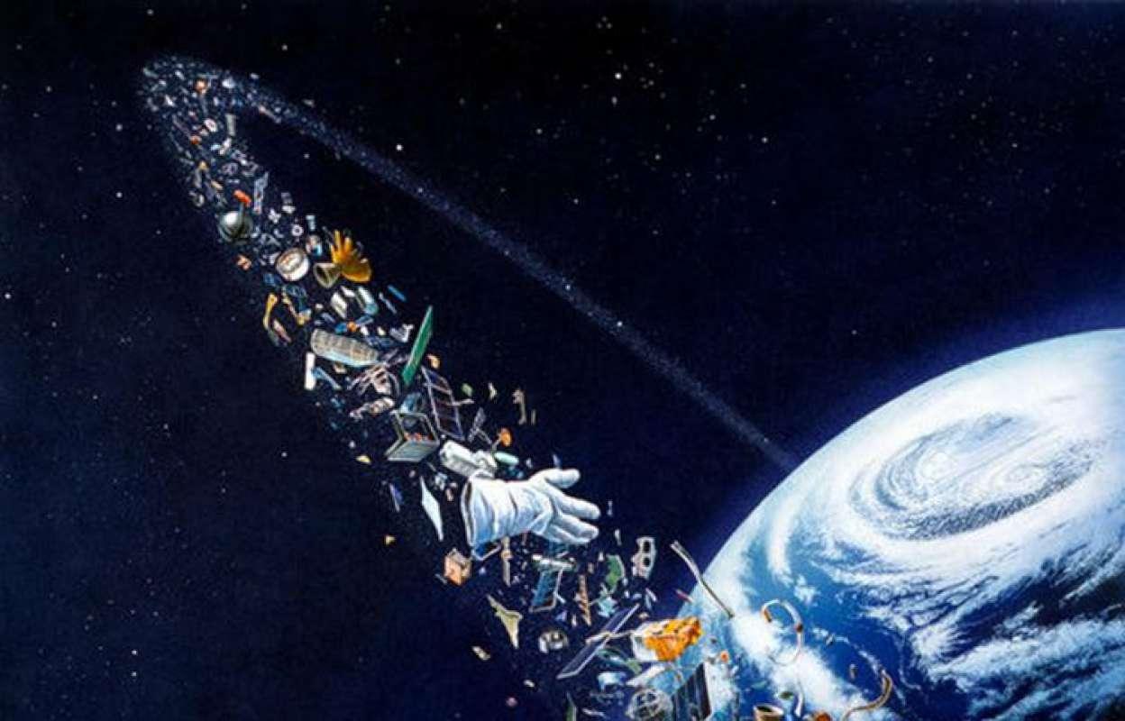 неважно, космический мусор картинки эффектом